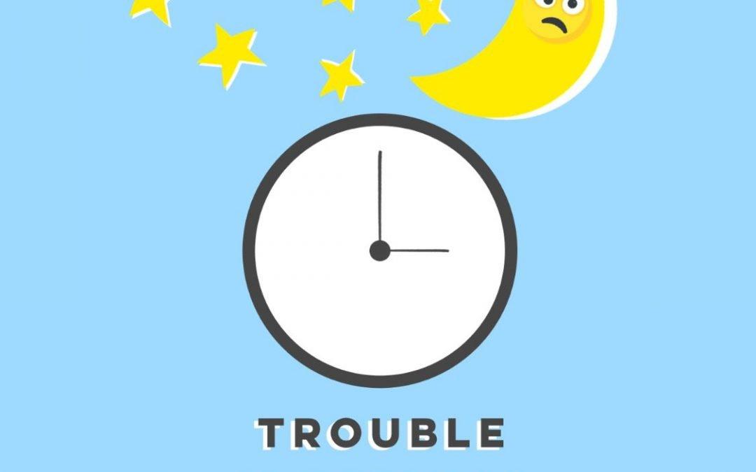 HAVING TROUBLE SLEEPING DURING ISOLATION?