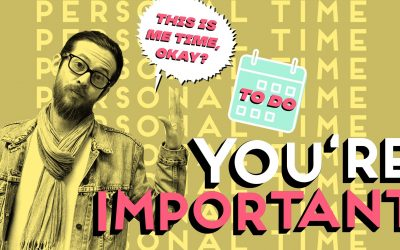 YOU'RE IMPORTANT — SO SET PERSONAL TIME